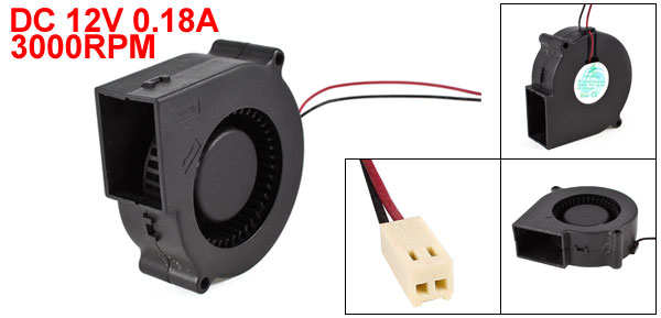 FSY75S12H 75x30mm 7530S Brushless DC Cooling Blower Fan 12V 0.18A<br><br>Aliexpress