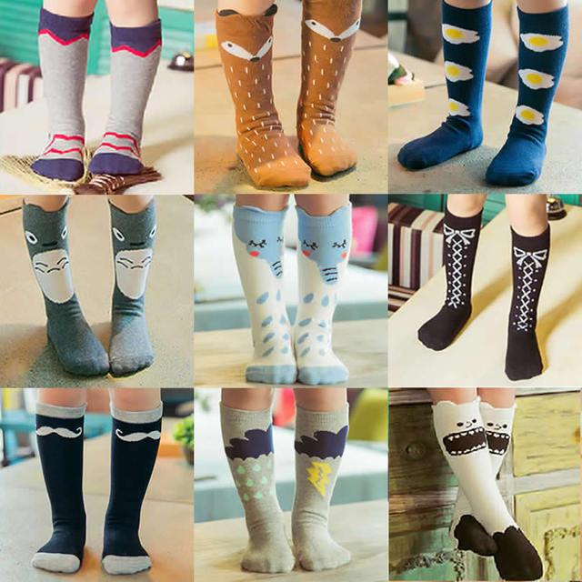 Дети фокс носки гольфы малыш загрузки ног теплые тоторо носки девушка Collant enfant ...