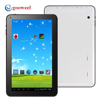Gooweel G10X планшет 10 дюймов емкостный экран ATM7029 четырехъядерных процессоров андроид 4.4 поддержка беспроводной камеры Bluetooth OTG 1 ГБ оперативной памяти 8 ГБ / 16 ГБ ROM