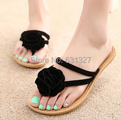 New 2015 Summer Shoes Woman Sandals Women Sandal For Women Flats Flip Flops Wedges Sandal Girl Women Shoes Sandy Beach