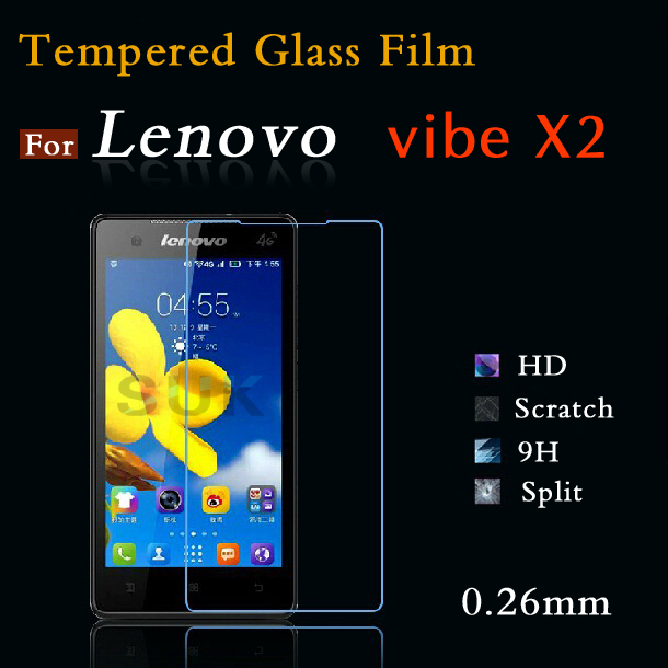 For Lenovo vibe x2 Tempered Glass Film Explosion-Proof Anti Shatter Tempered Glass Screen Protector Film & Beautifully packaged(China (Mainland))