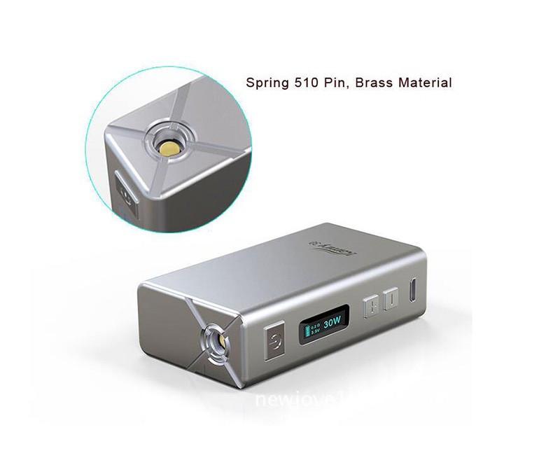 ถูก Vaporizer OLED EElectronicบุหรี่7-30วัตต์กล่องสมัยอิเล็กทรอนิกส์มอระกู่Vape shishaปากกา4มิลลิลิตรถังบุหรี่VS istick