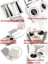 DJI Phantom3 YAW Pitch control+Bracket Mount Adapter+rocker cover+Monitor Holder Extension Panel+Antenna Booster accessories