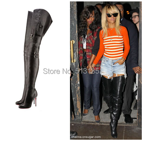 Super Thigh High Boots - Cr Boot