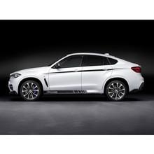 Buy 5D Carbon Fibre Vinyl Die Cut Side skirt decal BMW F10/11 F01/02 F30 M3 M5 320i 328i 520i 525i M Performance Sticker for $22.31 in AliExpress store