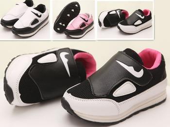 Размер 21-35 детей спортивная обувь 2015 весна осень дышащий свободного покроя обувь для мальчиков девочек кроссовки детей на открытом воздухе обувь