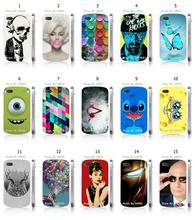 Hot 1pc Skull Monroe stitch retail Hybrid Design Protective White Hard Mobile Phone Case For blackberry Q10 Free Shipping