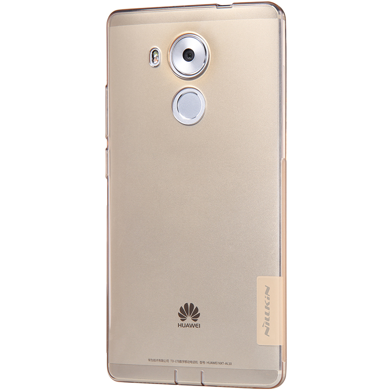 Mate8 Case Nillkin Nature Series Ultra-thin 0.6mm Transparent TPU Back Cover Mobile Phone Case for Huawei Mate 8(China (Mainland))