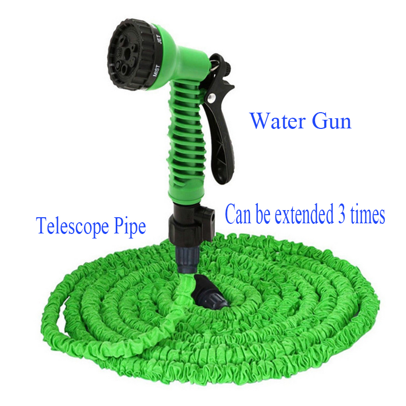 Adjustable High Pressure Water Gun Telescope pipe Cleaner Squirt Adapter Auto Car Vehicle Washing Garden irrigation Clean Room(China (Mainland))