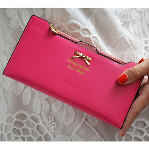 Hot Sale New Lovely Wallet Bags Women Purse Long Zip Wallet Pu Leather Wallets Ladies Colorful
