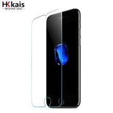(КУПИТЬ 1 ПОЛУЧИТЬ 1 БЕСПЛАТНО) HKkais Для Apple iPhone 6 7 закаленное стекло HD 0.26 мм 2.5D Протектор Экрана для iPhone 7 6 6 s Плюс 5S 5 4 стекла(China (Mainland))