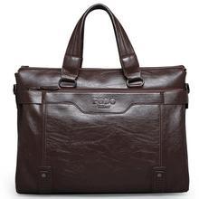 Men bag 2015 Polo famous brands genuine leather bag High Quality men messenger bags  vintage laptop bag briefcase handbag V3G60 (China (Mainland))