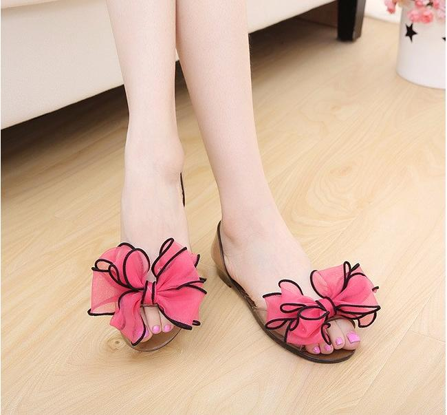 2016 New summer women sandals female flower peep-toe comfortable flats flip gladiator sandals party shoes<br><br>Aliexpress