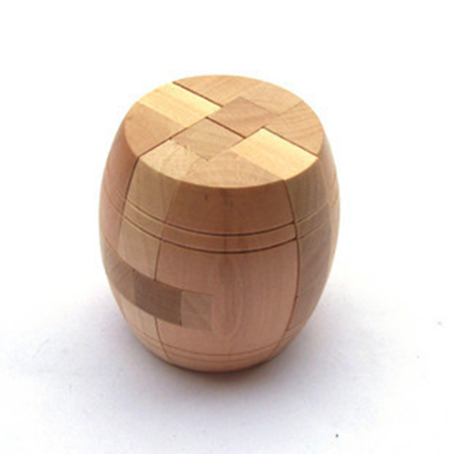 Free shipping Adult child wooden toys luban ball series tumuluses lock(China (Mainland))
