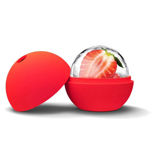 Large Size Ice Cube Ball Silicone Round Ice Cube Mold Ball Sphere Ice Mold Ball Maker Silicone Mold Sphere WD-10001(China (Mainland))