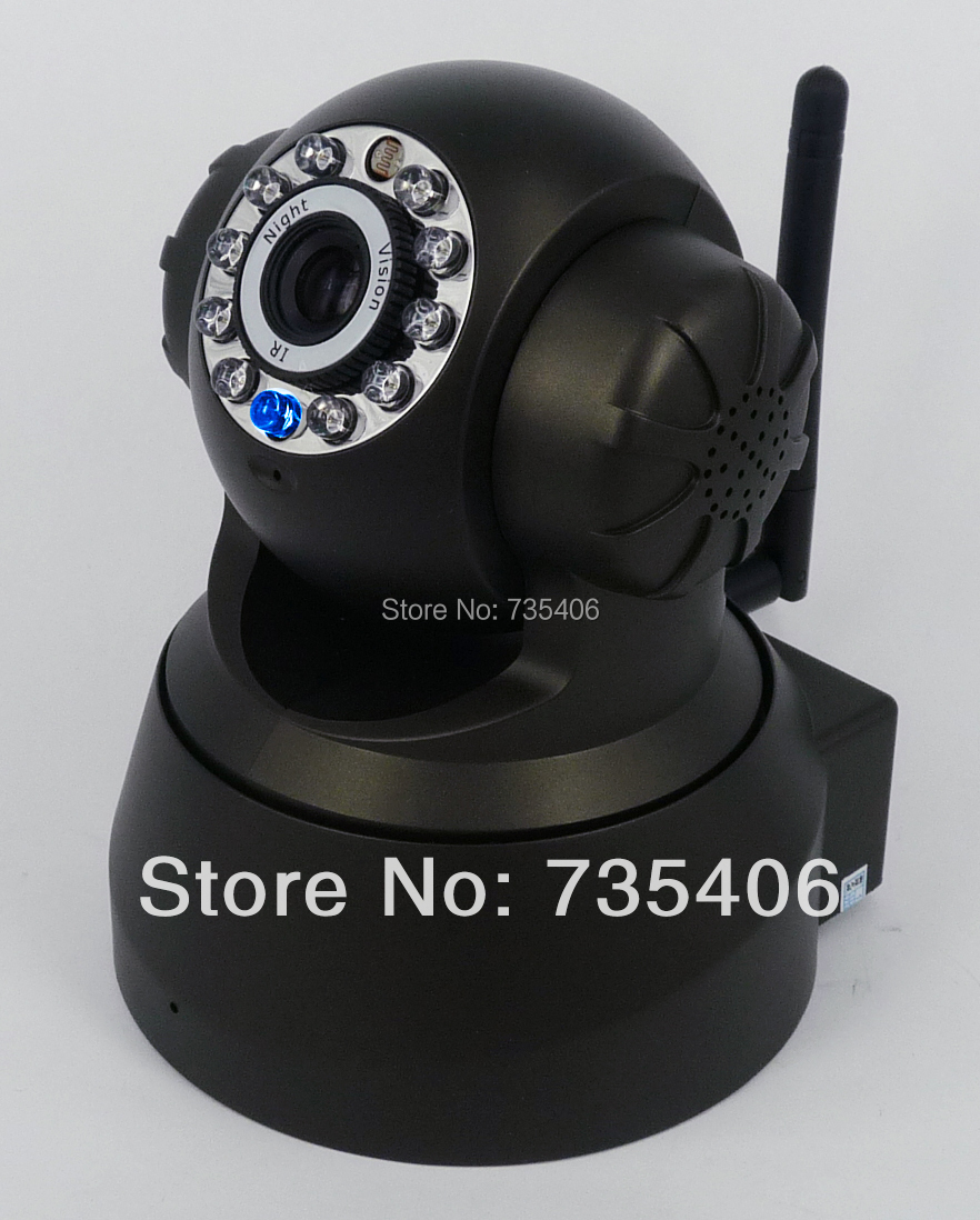 Most Popular TF SD Card Wireless Wifi Dual Audio Pan/Tilt Home Security Surveillance System IP Camera<br><br>Aliexpress