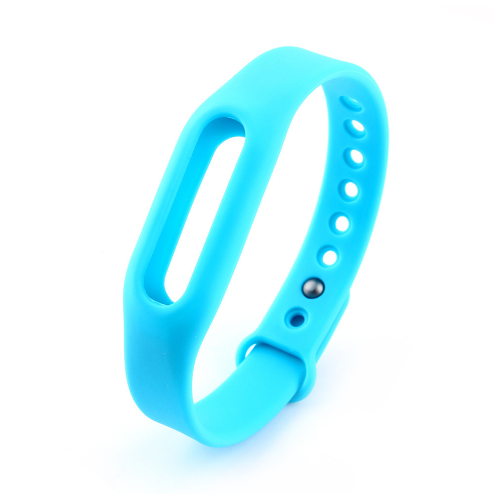image for 6Colors Colorful Silicone Replace Belt Strap For Xiaomi Mi Smart Wrist