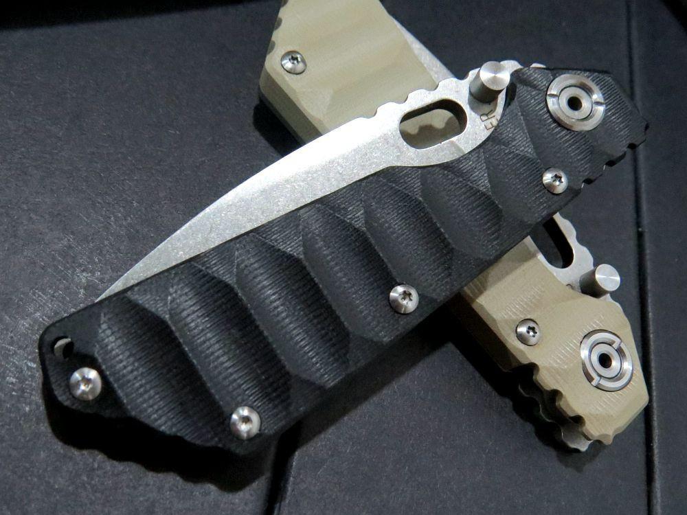 Buy 5PCS/LOT Custom ST-1 Knives Tactical Survival Folding Knife Stonewashed 5Cr13MOV 56HRC Blade G10 Handle Camping hunting Tools cheap