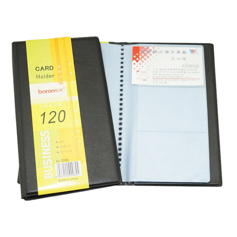 Sanwony New Arrival Leather 120 Cards ID Credit Card Holder Book Case Keeper Organizer Freeshipping(China (Mainland))