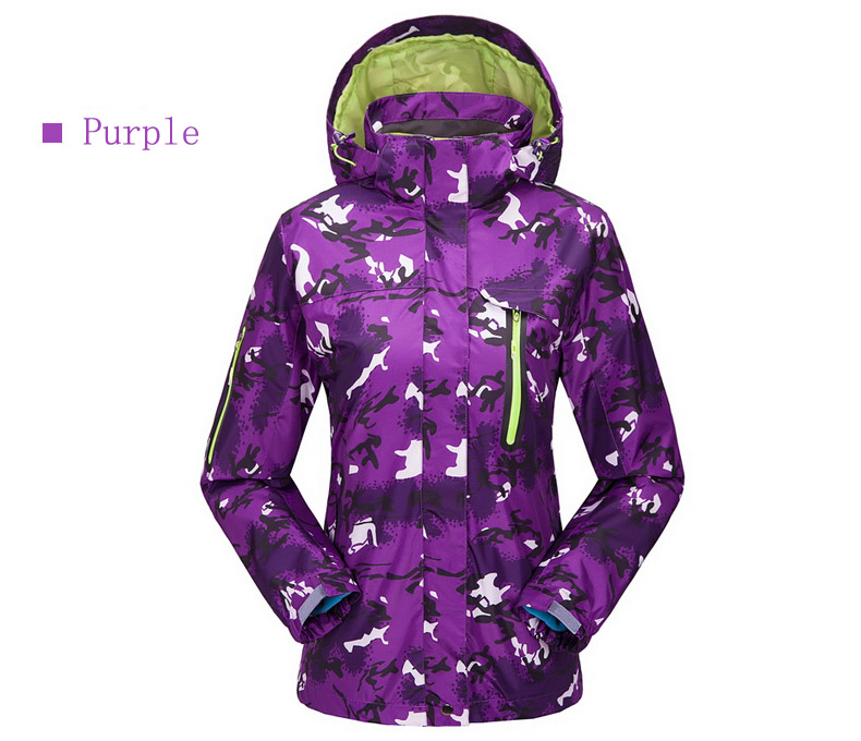Dropshipping new arrival winter Thermal waterproof hiking outdoor camping suit jacket snowboard jacket ski snow jacket women