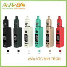 100% Original Joyetech eVic VTC Mini with TRON -S 75W Out Put Kit Colorful VS Joyetech Evic Mini Kit Kanger Nebox