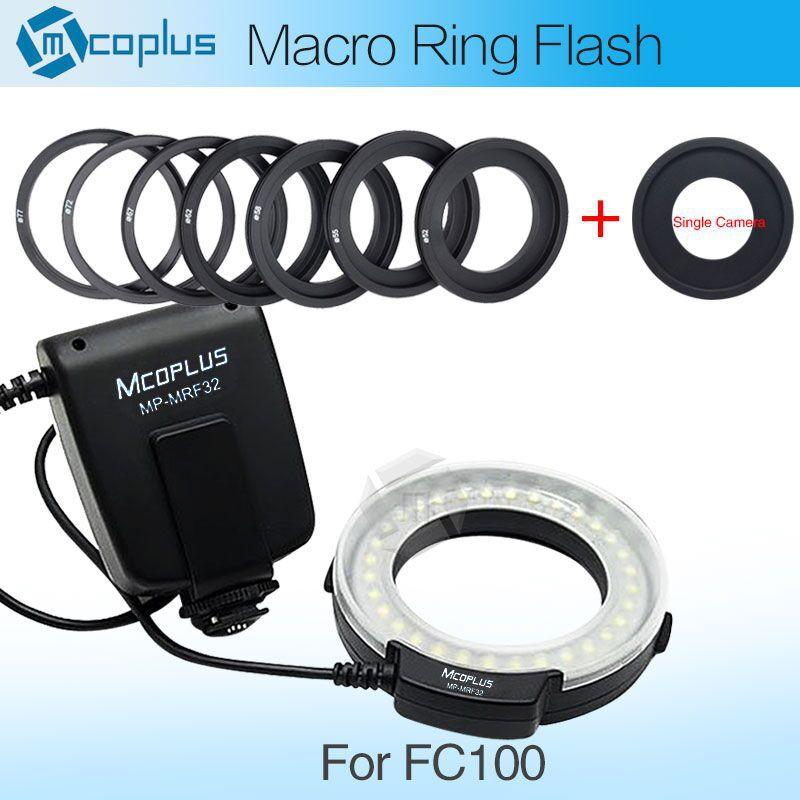 Meike FC-100 Macro Ring Flash/Light for Nikon D7100 D7000 D5300 D5200 D5100 D5000 D3300 D3200 D3100 D3000 D800 D600 D90 D80(China (Mainland))