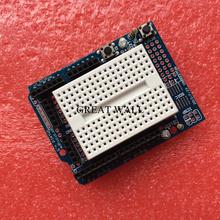 Smart Electronics UNO Proto Shield prototype expansion board with SYB-170 mini breadboard based For Arduino UNO ProtoShield DIY