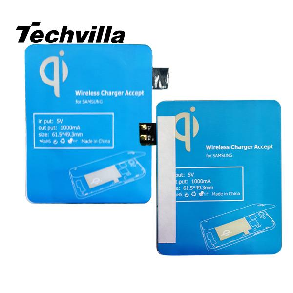Slim Qi wireless Charger Charging Pad Patch New Hot for Samsung S3 III Sasung i9300 High Quality 1pc(China (Mainland))