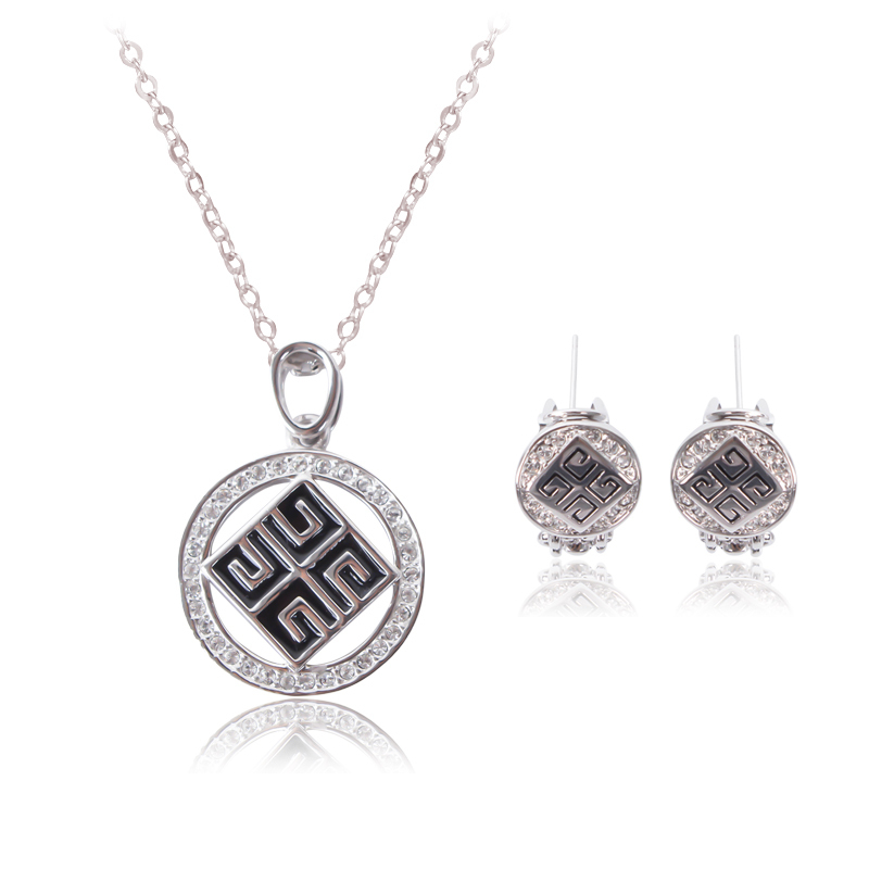 sale 2015 fashion 925 sterling silver jewelry set