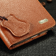 New Arrival Luxury Original KAIYUE Genuine Leather Flip Unique Magnet Design Stand Case Cover For Samsung Galaxy Note 4(China (Mainland))