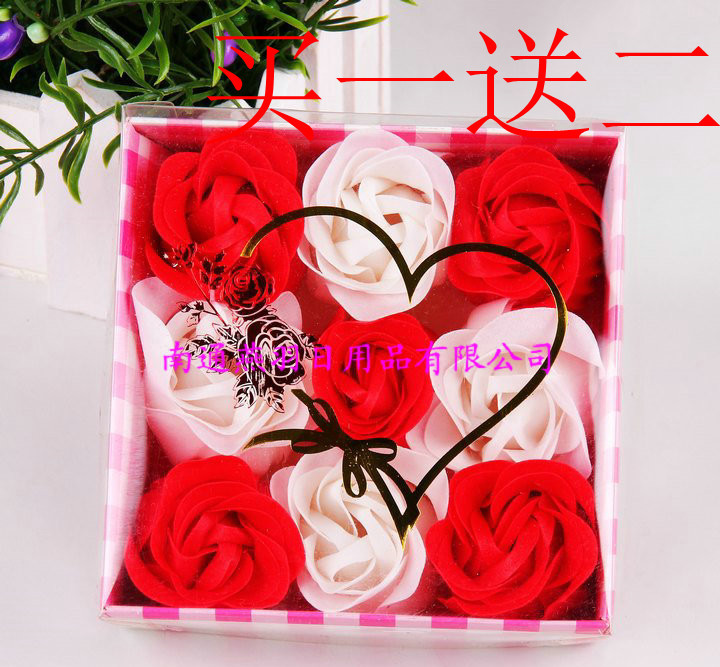 Creative Valentine's Day wedding supplies wedding supplies wedding supplies rose soap flower soap flower record 9(China (Mainland))