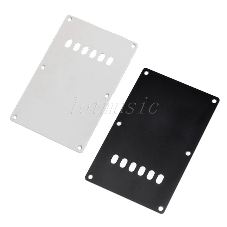 2Pcs Trem Cover Guitar Parts for Fender Strat Guitar Replacement Black+White(China (Mainland))
