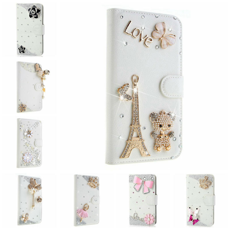For Samsung Galaxy S4 Active i9295 Wallet Stand Bling Crystal Diamond Leather Case Handmade Fashion 3D Elegant Luxury Bling Case(China (Mainland))