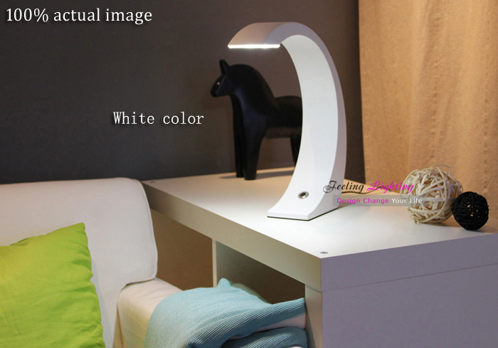 LED Table Lamp Creative Protecting Eye Reading Study Fashion LED Table Lamp Contemporary Touching Switch Desk Light(China (Mainland))