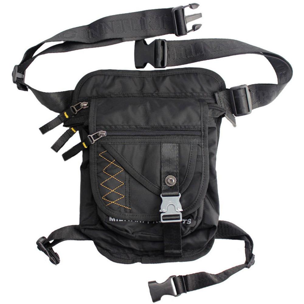 Men Waterproof Nylon Leg Hip Drop Bag Ride Motorcycle Travel Hiking Military Tactical Belt Bum Fanny Waist Pack Bags(China (Mainland))