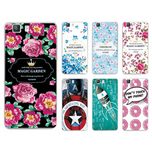 New Arrival Ample Flower Colored Paiting Case DOOGEE X5 / DOOGEE X5 PRO Cover For Doogee X5 pro+Free Stylus