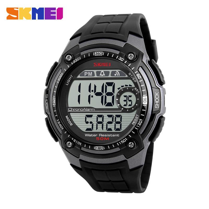 Skmei Brand New Sport Watch Fashion Electronic Led Digital Watch Cool Men Shock Wrist Watch Relogio Masculino Relojes Mujer(China (Mainland))