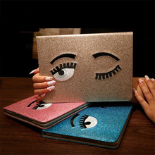 Buy Luxury Stand Smart Case Apple Pad mini Tablet Cover Shining PU Leather Big Eyes Plate Stand Case Apple Ipad mini 1 2 3 for $7.64 in AliExpress store