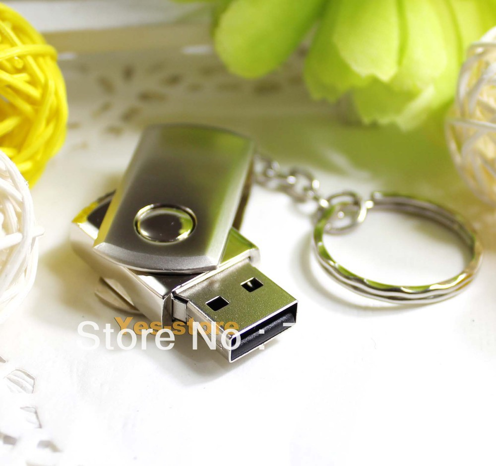 Stainless USB Drive 1GB 2GB 4GB 8GB 16GB 32GB Memory Flash Stick Silver color(China (Mainland))