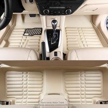 Custom fit car floor mats for Land Rover Freelander 2 (LR2 L359) 3D heavy duty car-styling rugs carpet floor liners (2006-now)