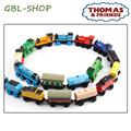 A Series Of Children s Toys Wooden Thomas Train Car Wooden Magnetic Puzzle Toy Cars And