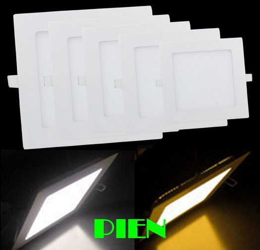 LED Ceiling lights 6W 12W 15W 18W 2835smd panel lamps Ultra thin Round Square home Kitchen 110V 220V Free Shipping 1pcs/lot<br><br>Aliexpress