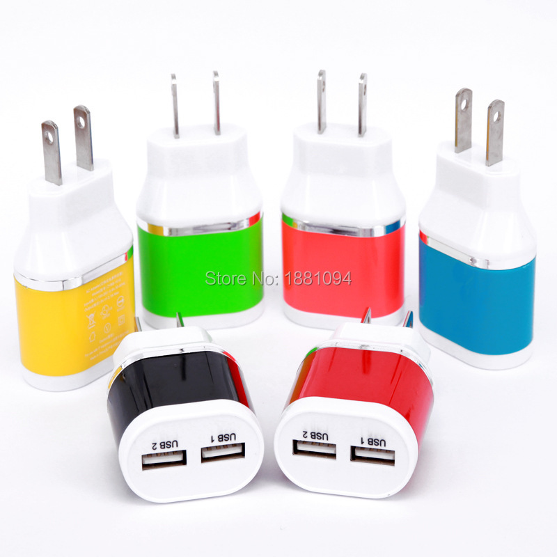 5V 2A EU plug Europe 2 Ports USB charger Mains Wall Charger for iPad 2 3 4 mini ,for iPhone 6 4G/S 5 for galaxy s5 note 3/4(China (Mainland))