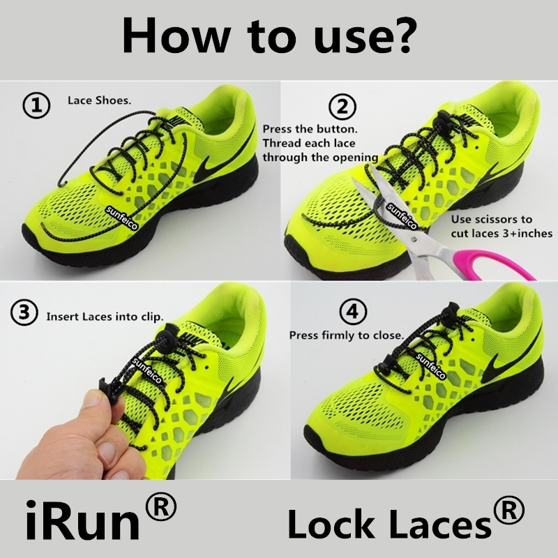 Shoe Lace Locks How To Use