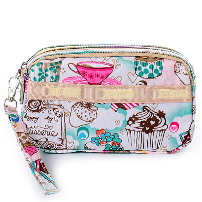 Sweet ice cream Qian Baonv wallet purse and wallet wholesale wholesale three zero wallet