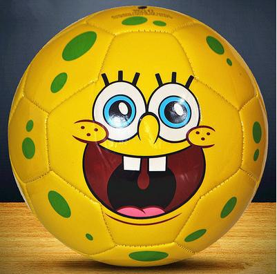 Free Shipping cartoon style soccer ball size 4 soccer ball kids football balls indoor football for children(China (Mainland))
