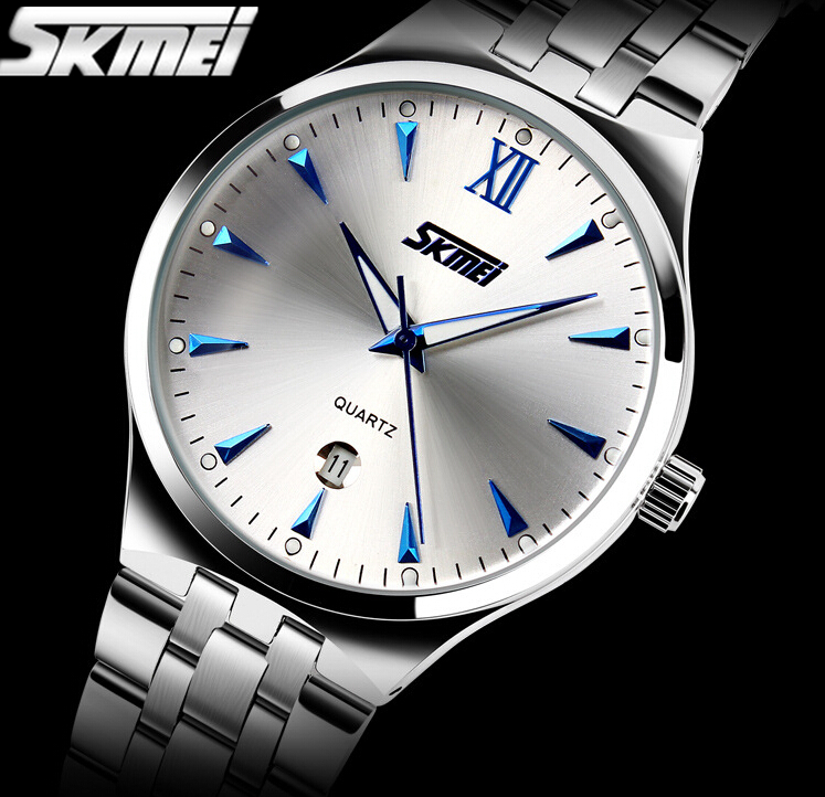 Watches men luxury brand Watch Skmei quartz Digital men full steel wristwatches dive 30m Casual watch relogio masculino mujer(China (Mainland))