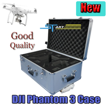 Outdoor Fashion box DJI phantom 3 FPV aluminum case protection flying toys 4-axis easy to carry drone Free Shipping