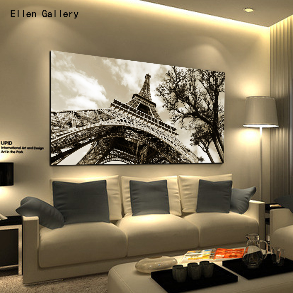 Home decor wall art canvas painting wall pictures for bedroom quadro cuadros decoration paris - Wall paintings for home decoration ...