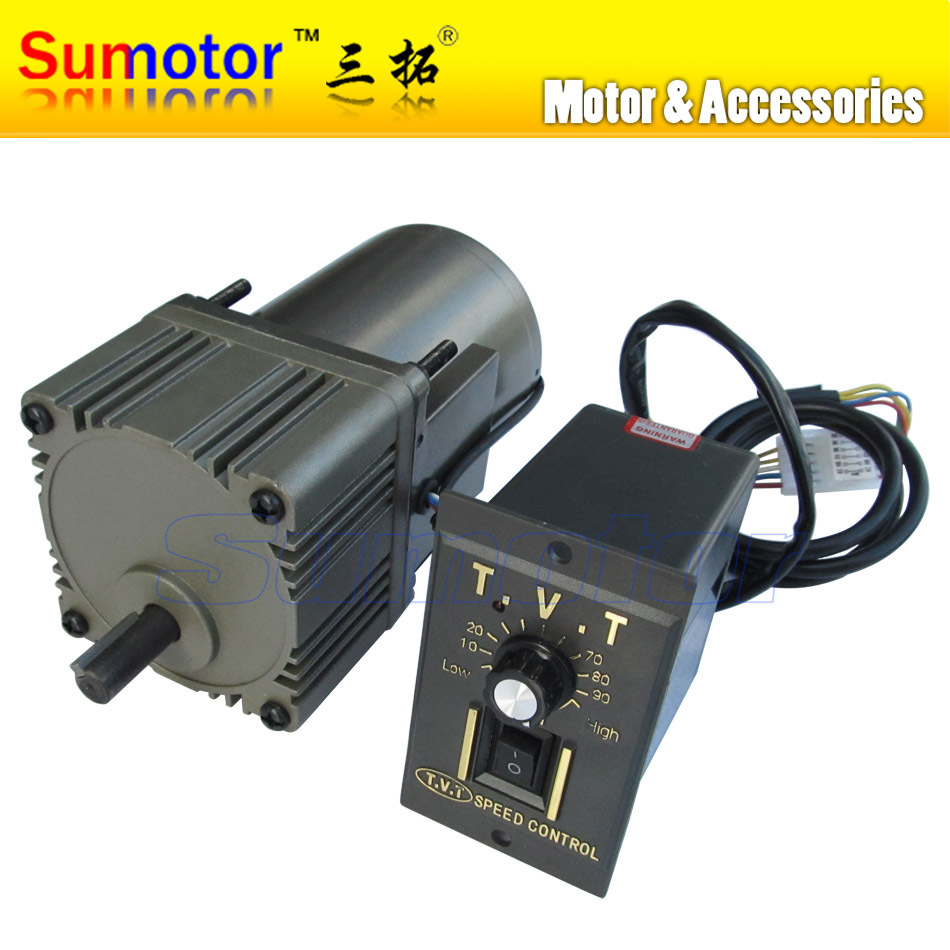 40w ac 220 240v 50 60hz low rpm gear reducer motor and for 240v motor speed controller